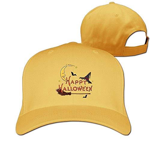 Classic Cotton Hat Adjustable Plain Cap, Halloween Plain Baseball Cap Adjustable Size Curved Visor Hat 424 Nascar-visor Hat