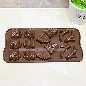 YiYuDe Moldes para Caramelos Molde