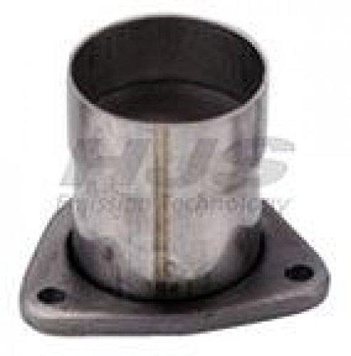 Inox Échappement arc 90 ° 45 mm pour soupape tuyaux