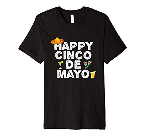 Happy Cinco De Mayo Fiesta Party Feier T-Shirt