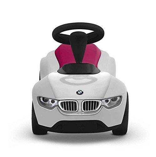 BMW Baby Racer III weiß / himbeerrot - 2
