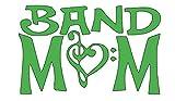 Home Grown Claremore Vinyl-Aufkleber, Aufschrift Band Mom, Verschiedene Größen und Farben, grün, 5.5