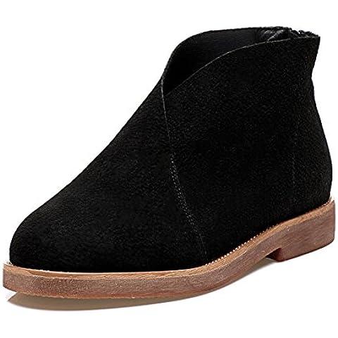 Stivale casual Ladies/Zip scarpa dopo/ aggiunto Stivali donna velluto/ scarpe elegante