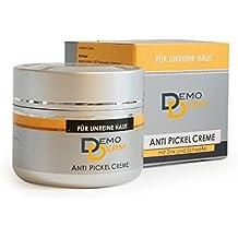 DemoDerm Anti Pickel Creme - 20g - Für unreine Haut - Gerötete Haut - Fettige Haut - Mitesser