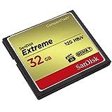 SanDisk Extreme 32 GB UDMA7 CompactFlash Card - Black/Gold Bild 1