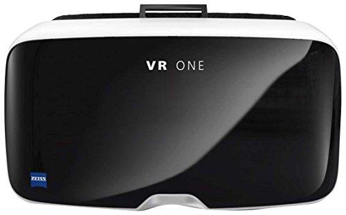 ZEISS ZVR1IP6 VR One Virtual Reality 3D Wireless Headset Brille mit Schale für Apple iPhone 6/6S schwarz