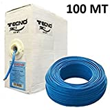 Cable de red UTP CAT6 en bobina 100 metros Tecno