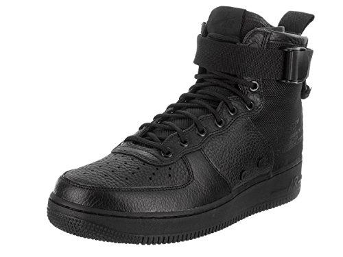 1 Schwarz Synthetik Herren Nike Mid 005 Sneaker black Leder Air Black Schwarz Force black SF wYIqZIB
