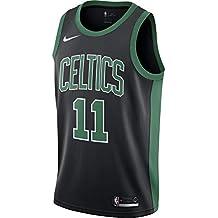 Nike Bos M Nk Swgmn Jsy Alt1 Camiseta Boston Celtics de Baloncesto, Hombre, Negro