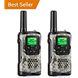Walkie Talkies For Kids, Uokoo Kids 22 Channel FRS/Gmrs Two Way Radio Up To 3Km Uhf Handheld Talkies, Toys 5-Year Old Boys, 7-Year Boys And Girls