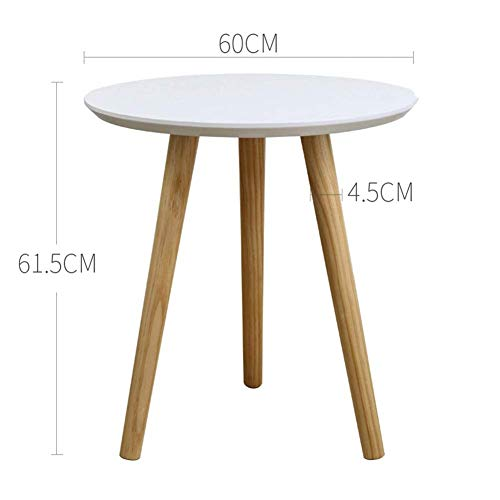 Side Tables,Tables Coffee Tables Nesting Coffees End Tables Modern Decor Side Table Triangle Occasional Stand Tea Table for Living Room Home and Office (Color : 60 * 61.5CM White) - Moderne Nesting Table