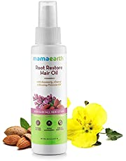 Mamaearth Root Restore Hair Oil 100ml with Bhringraj Jojoba