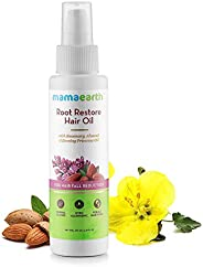 Mamaearth Root Restore Hair Oil For Hair Fall, 100 ml