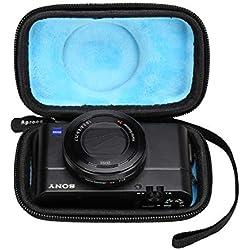 Aproca Dur Voyage Étui de Rigide Housse Cas pour Sony DSC-RX100 II/III/IV/V/VI Appareil Photo Numériques