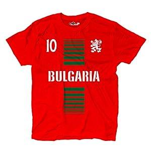 T-Shirt manner National Sport Bulgarien Bulgaria 10 fussball Sport Europa Leone 2 KiarenzaFD Streetwear Shirts