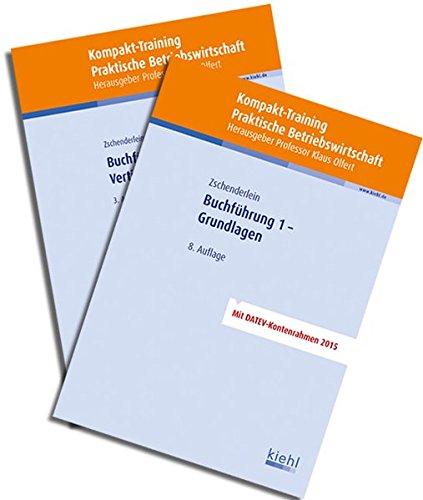 Bücherpaket Buchführung 1 und 2: mit Kompakt-Training Buchführung 1 - Grundlagen und Buchführung 2 - Vertiefung.