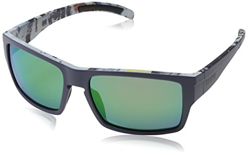 Smith Herren OUTLIER XL X8 S6F 56 Sonnenbrille, Bluette Pattern/Green Ml Cp,