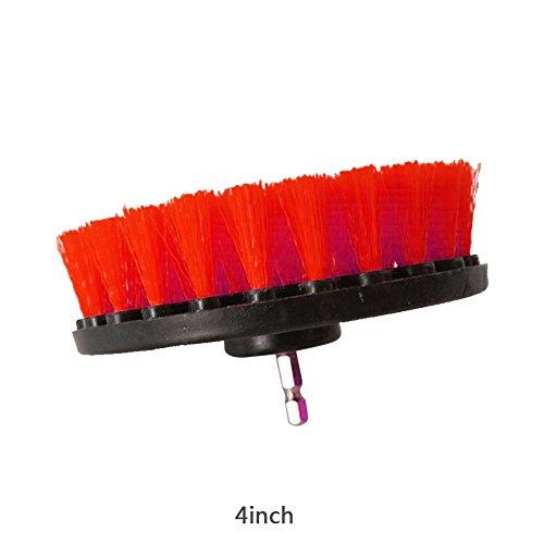 Gulin Bürstenbohrmaschine, Allzweck-Reinigungsbürste für den Power Scrubber Für Badezimmer Oberfläche Küche Boden Badewanne Dusche Fliesen Ecken und Fugenmörtel