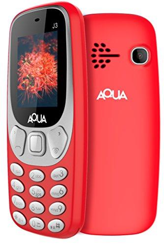 Aqua J3 (1.8 inch Display, 1000 Mah Battery, Red)