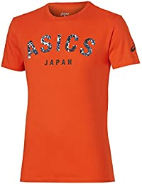 asics t shirt fille or
