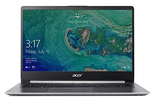 Acer SF114-32-P8GG Ultrabook (Intel Pentium Prozessor N5000, 4GB RAM, Intel UHD 605 Grafik, Win 10) Silber