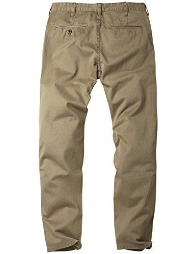 Match Herren Slim Straight Casual Hose #8036 8036 Dunkel khaki