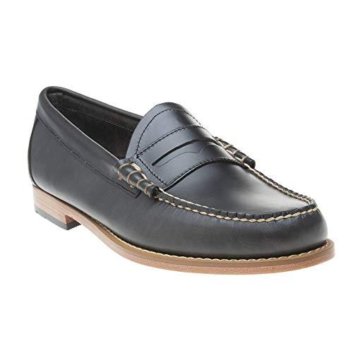 G.H. Bass & Co. Herren Larson Slipper, Blau (Navy Leather Aa), 43 EU (Penny Loafer Von Bass)