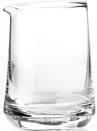 The Elan Collective Cocktail Rührglas aus 100{edd24eee28a6cb29826fe4c24ed4341ee69484052b24fc83706e4798ccf6ba0c} bleifreiem Glas - 750 ml, spülmaschinenfest (Silver Lake)