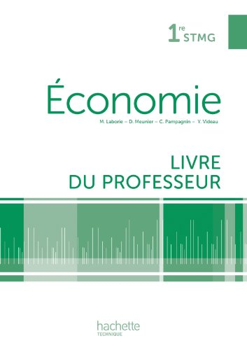 En situation conomie 1re STMG - Livre professeur - Ed. 2012