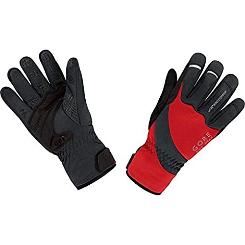 Gore Bike Wear Mens Gloves-Brilliant red red / black Size:FR : XXXL (Taille Fabricant : 11) by Gore