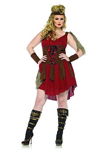 Huntress Kostüm Plus Size - Leg Avenue 85131X - Deadly Huntress