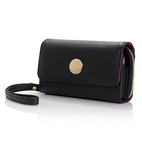 knomo-luxurious-genuine-leather-purse-with-pocket-for-mobile-phone-mp3-player-earphones-compact-mirr