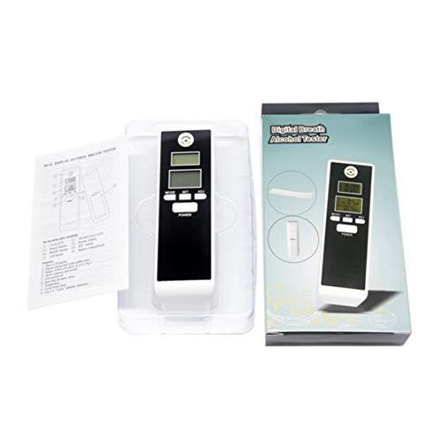 PFT-661S Digital LCD Atemalkohol-Tester Analyzer Detector Alkoholtester mit Hintergrundbeleuchtung Akustischer Alarm Police Home Driving Kaemma (Farbe: Blau)