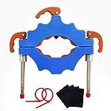 Flasche Fräser Cutter Glasflasche Cutter Maschine Glasflasche Schneidwerkzeug Flasche Schneider Glas Fräser Cutter Set (blau)