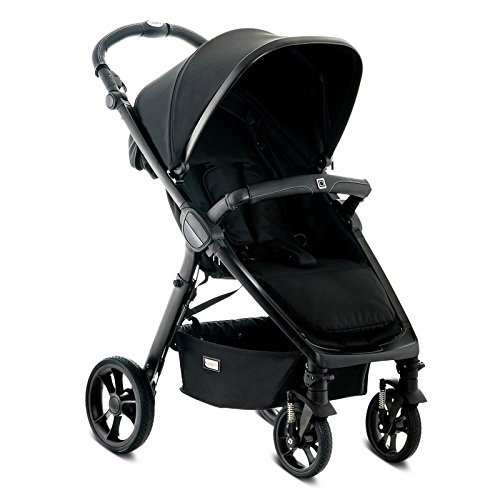 Moon 62780310-891 JET R City, black/fishbone Kinderwagen, schwarz