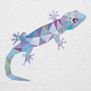 Texlab–Poly Gecko–sacchetto di stoffa Bianco