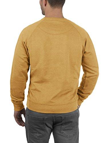 BLEND Alex Herren Sweatshirt Pullover Sweater mit Rundhalskragen aus  hochwertiger Baumwollmischung Mustard Yellow 72513 0828242271