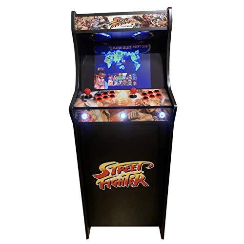 Roboticaencasa Máquina Arcade Lowboy Retro, máquina recreativa -Tamaño Real- Diseño Street
