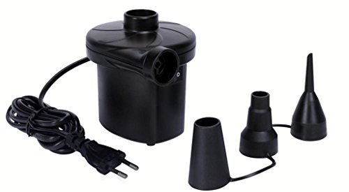 AC Electric Vacuum Air Pump - Quickly Inflates / Deflates Sofa, Bed, Swimming Pool Tubes, Toys,Air Bags, Mattresses