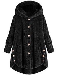 BIKETAFUWY Mantel Damen Elegant Trenchcoat Wintermantel Warm