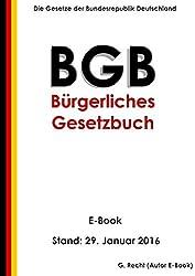 Das BGB - Bürgerliches Gesetzbuch - E-Book - Stand: 29. Januar 2016