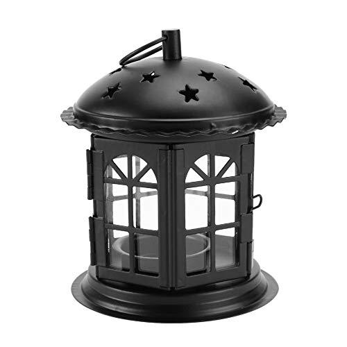 r Hohl Kerzenhalter Teelicht Laterne Decor Garten Landschaft Beleuchtung Lichter Schatten für Party Patio Yard ()