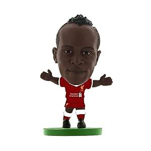 SoccerStarz Figura Decorativa de Sadio Mane, Jugador del Liverpool con Kit de 2018, SOC1105