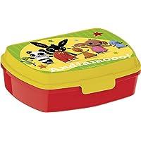 Bing Sandwich Box para niños, amarillo/rojo