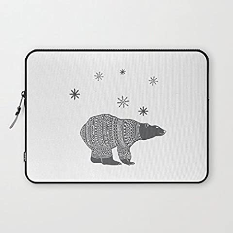 mikoul Adorabile orso polare COMPUTER PORTATILE impermeabile
