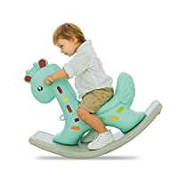AAY Child Rocking Horse Toy,Animal Rocker Toy, Infant Zebra Rocker Toy for 1-3 Years, Kid Rocking Horse/Zebra Rocking Horse/Toddler Rocking Horse/Rocker Ride Animal