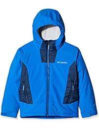 Columbia Wild Child Jacke Chaqueta de Hardshell, Niños, B-Super Blue, Col, Small