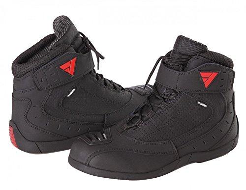 Modeka CITY RIDER Motorradstiefel Leder/Textil - schwarz Größe 44