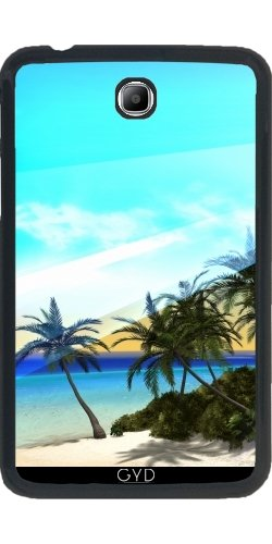Coque pour Samsung Galaxy Tab 3 P3200 - 7' - Belle île by nicky2342