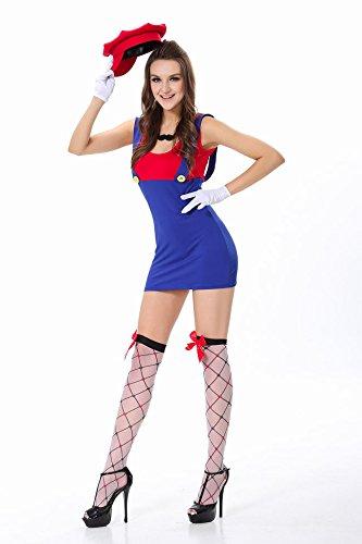 Gorgeous Mario Halloween-Kostüme Clown Anzug Uniformen Halloween-Kostüme Kleidung Großhandel